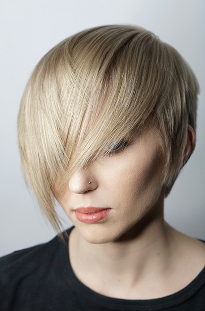 hair cut blonde
